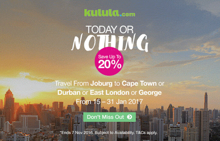 Kulula One Day Sale