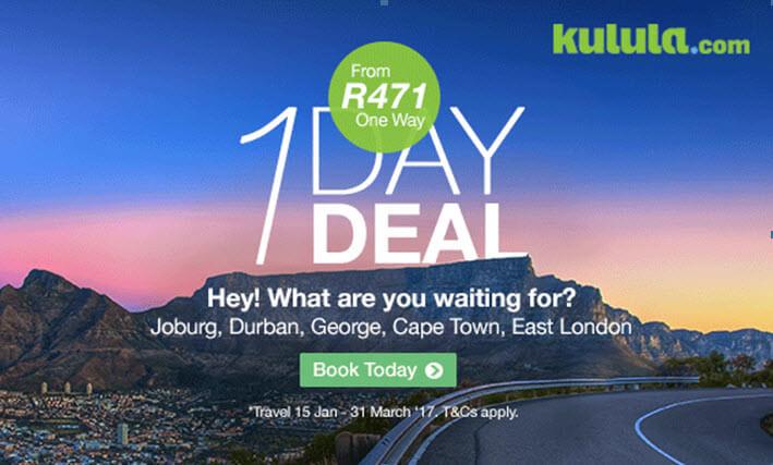 Book Cheap Kulula Flights