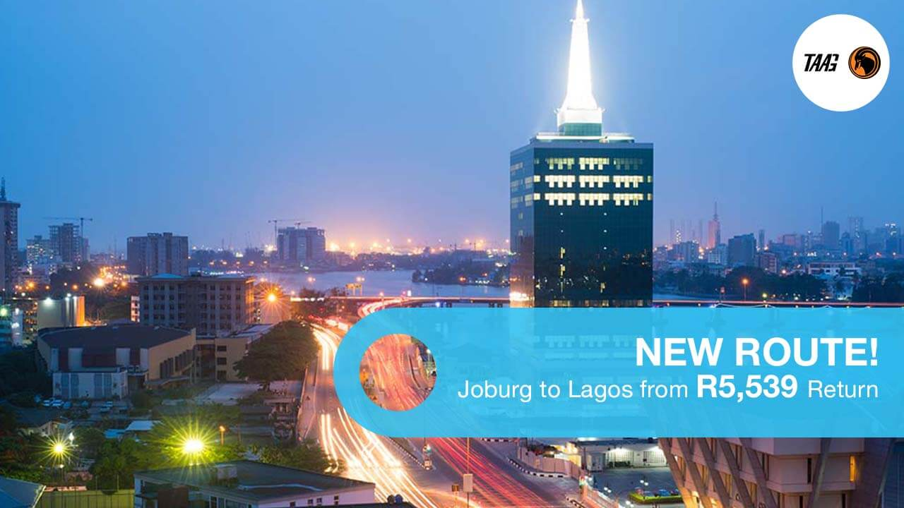 Book Cheap Flights to Lagos