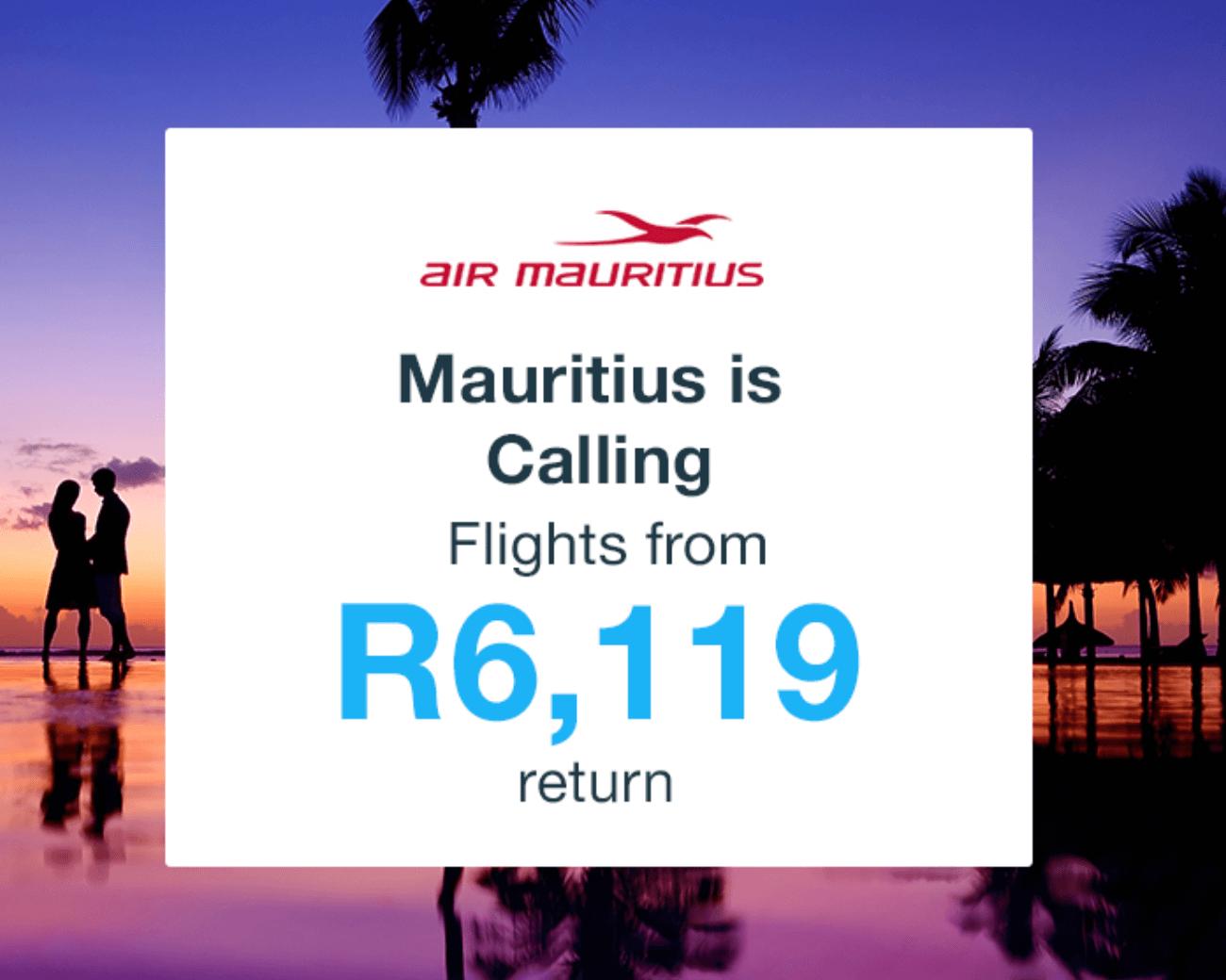Mauritius Flights Special