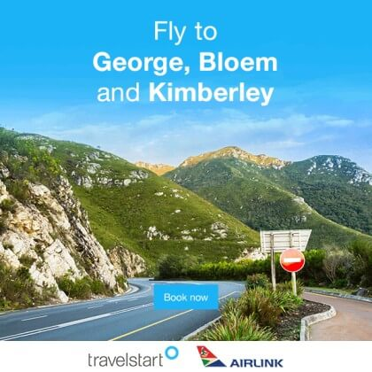 Fly to George, Bloem, Kimberley