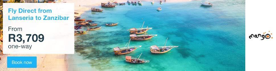 Cheap Flights to Zanzibar