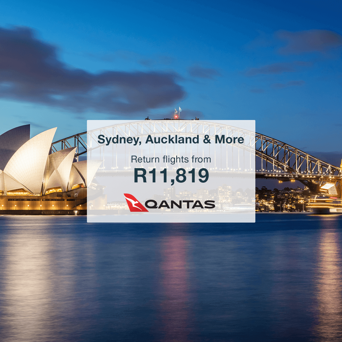 Cheap Qantas Flights to Australia & New Zealand